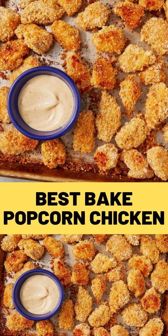 Best Bake Popcorn Chicken