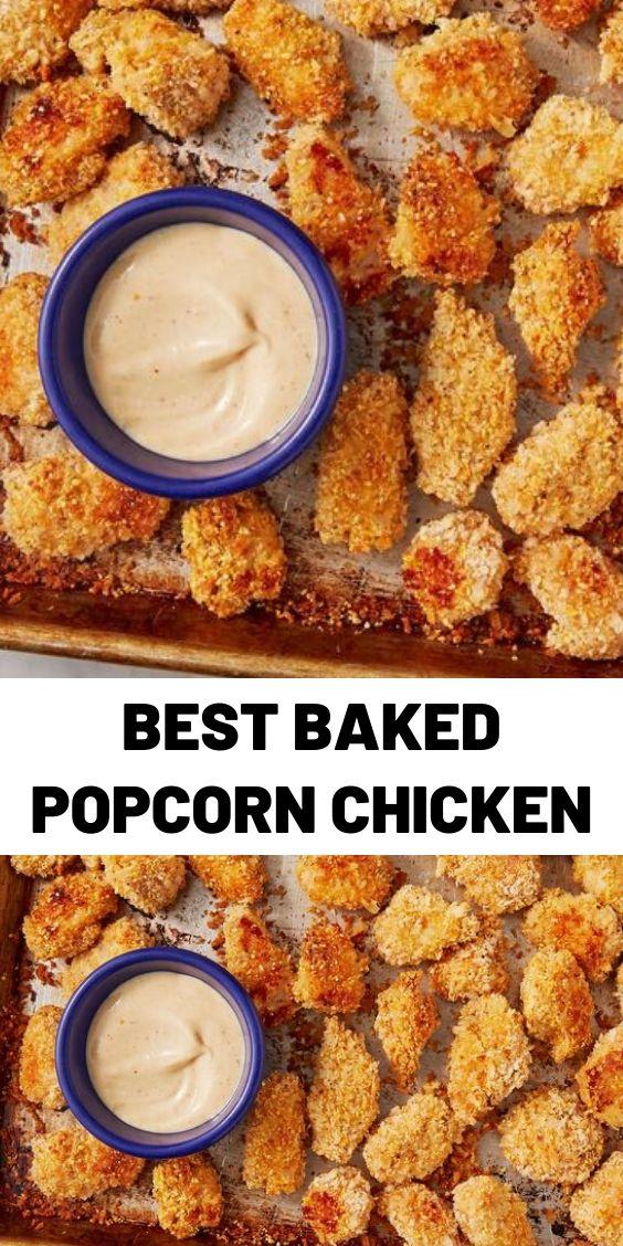 Best Baked Popcorn Chicken