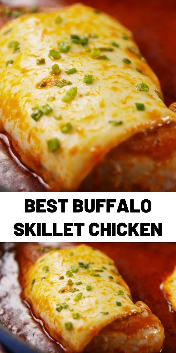 Best Buffalo Skillet Chicken
