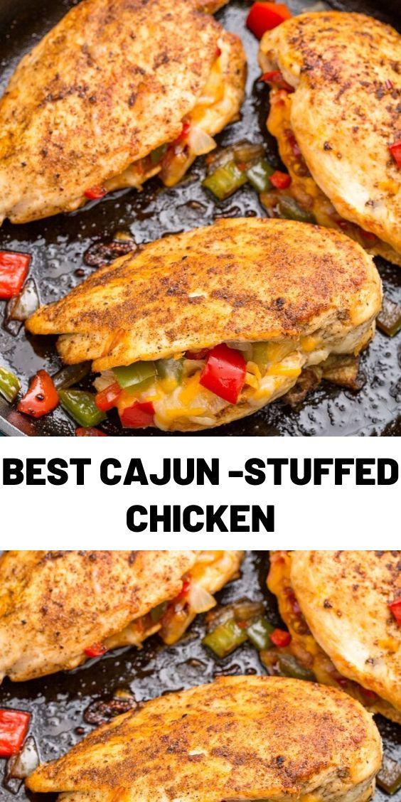 Best Cajun-Stuffed Chicken