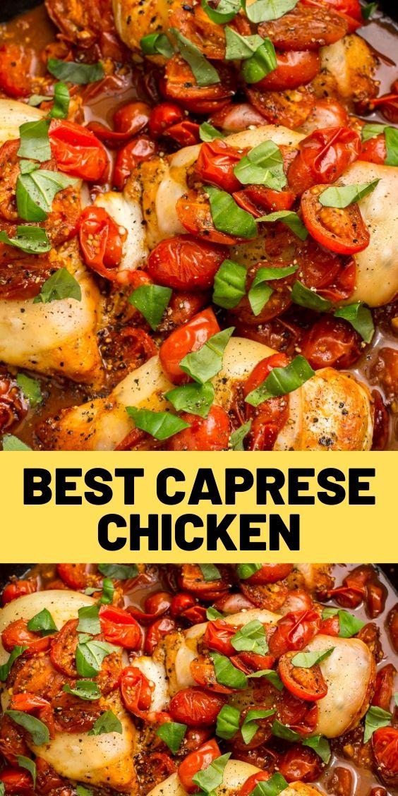 Best Caprese Chicken Recipe