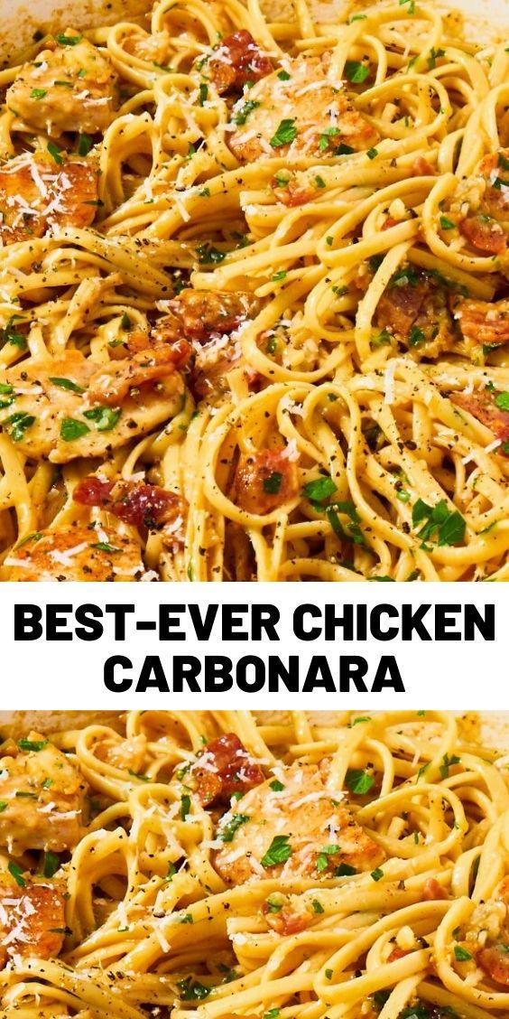 Best-Ever Chicken Carbonara