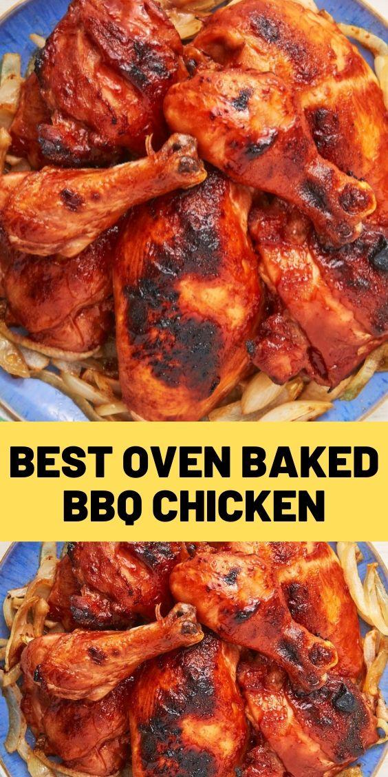 Best Oven-Baked BBQ Chicken