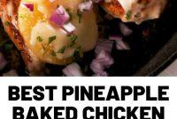 Best Pineapple Baked Chicken