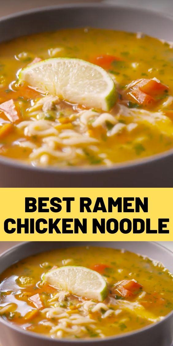 Best Ramen Chicken Noodle
