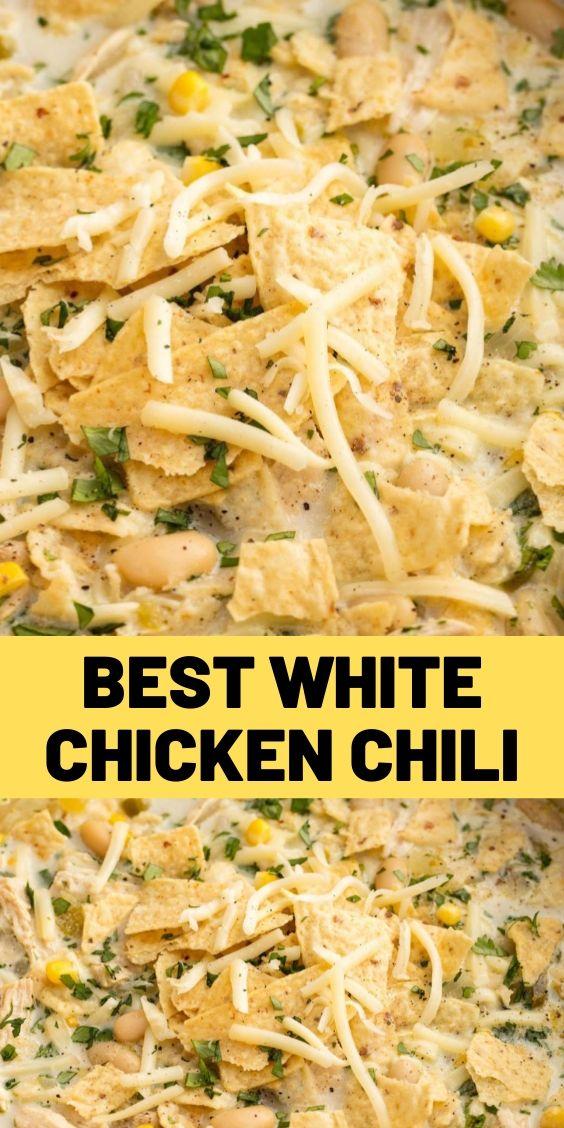 Best White Chicken Chili