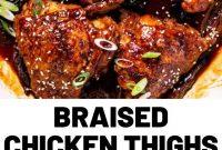 Braised Chicken Thighs Recipe