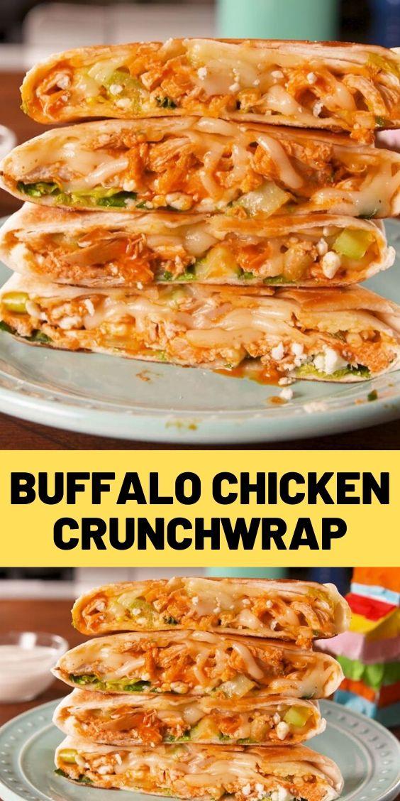 Buffalo Chicken Crunchwrap