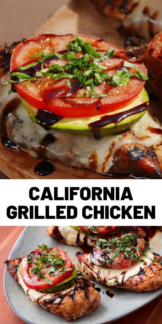 California Grilled Chicken Recipe