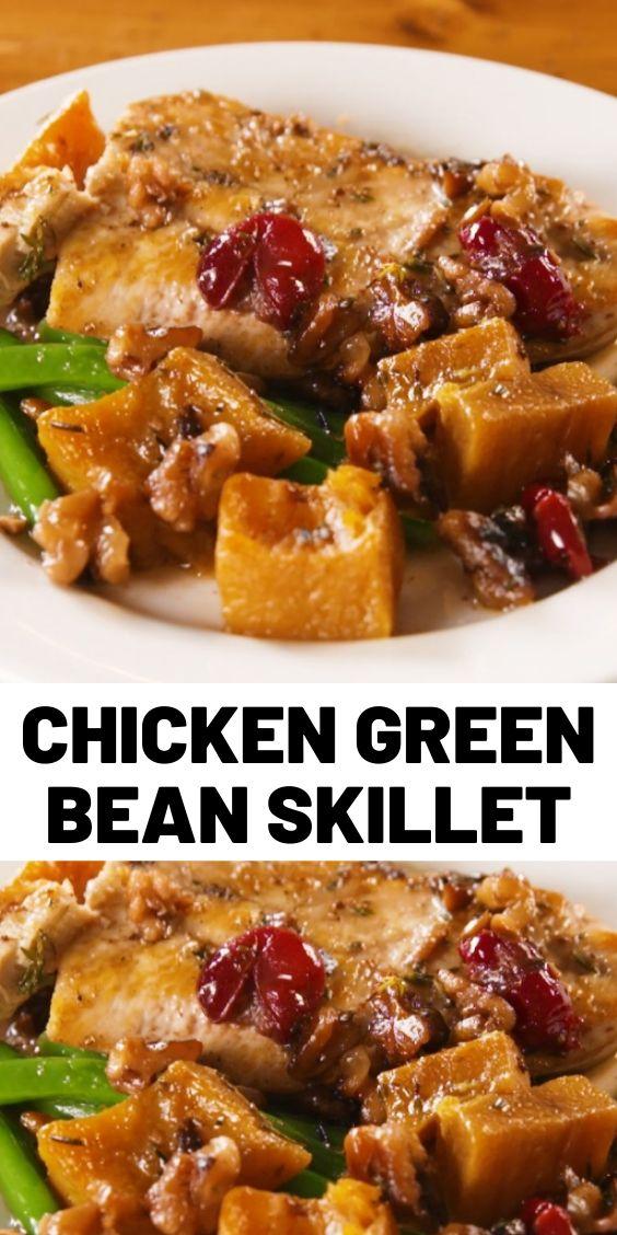 Chicken Green Bean Skillet