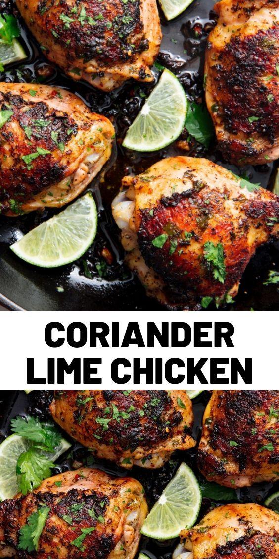 Coriander Lime Chicken
