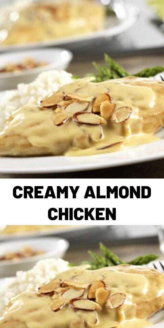 Creamy Almond Chicken