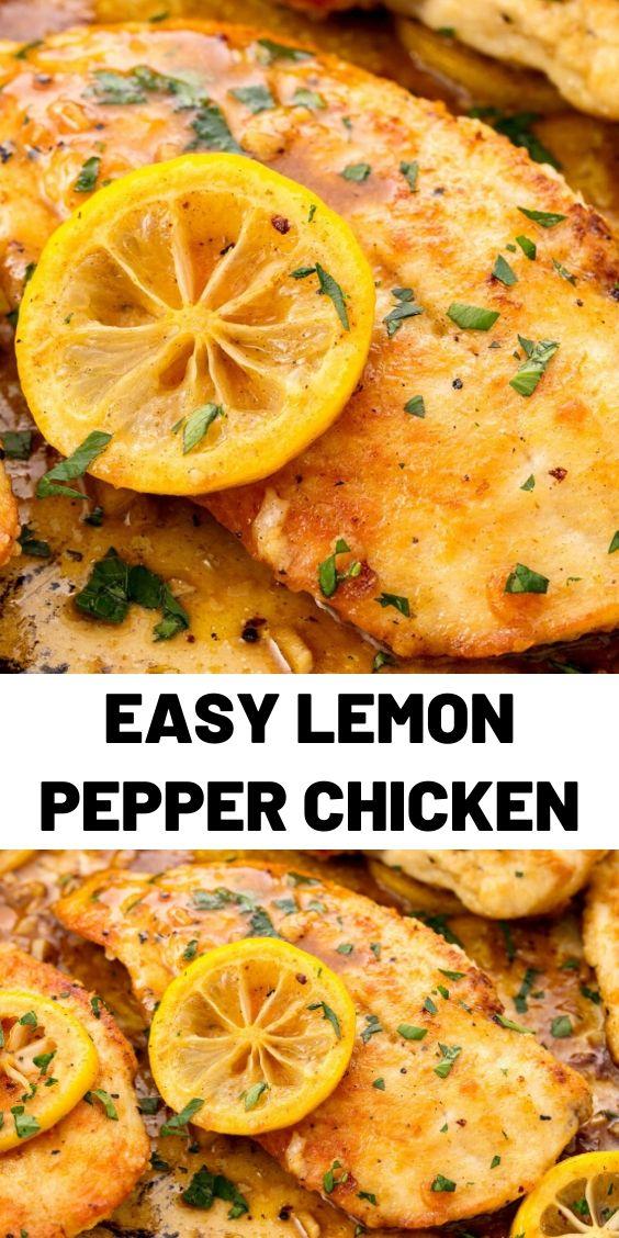 Easy Lemon Pepper Chicken