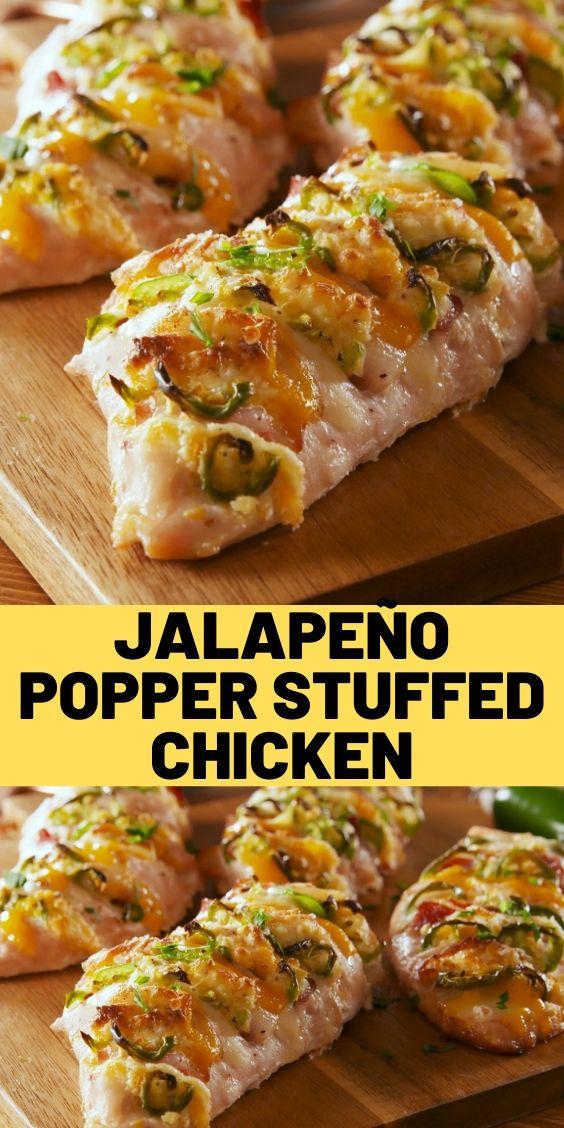 Jalapeño Popper Stuffed Chicken