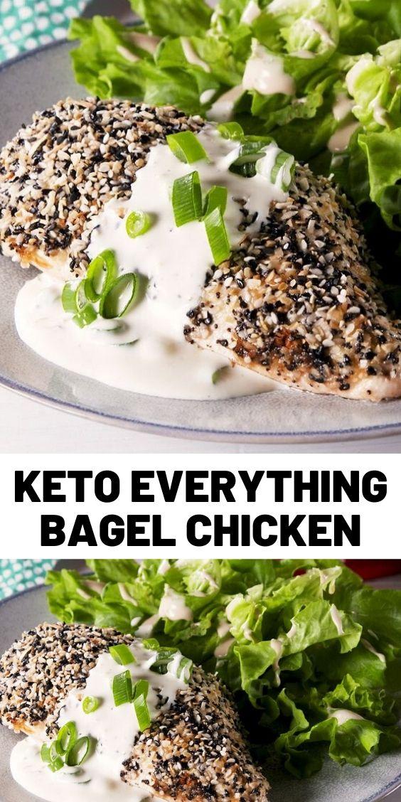 Keto Everything Bagel Chicken