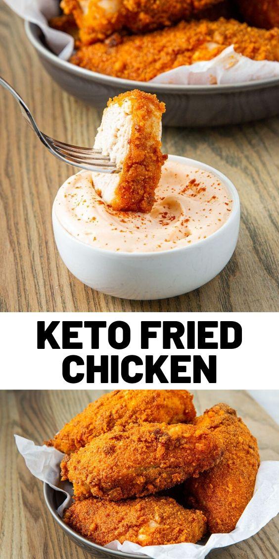 Keto Fried Chicken Recipe