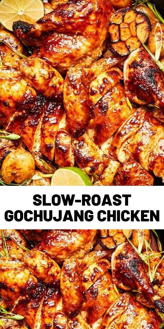 Slow-Roast Gochujang Chicken