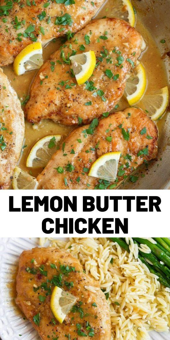 Best Lemon Butter Chicken