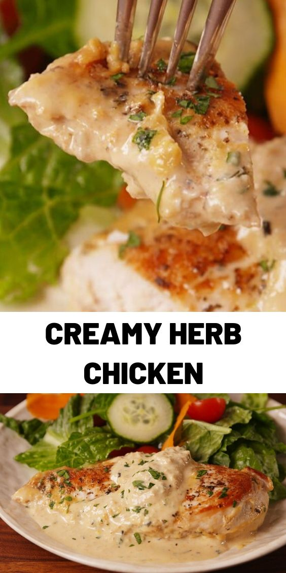 Creamy Herb Chicken