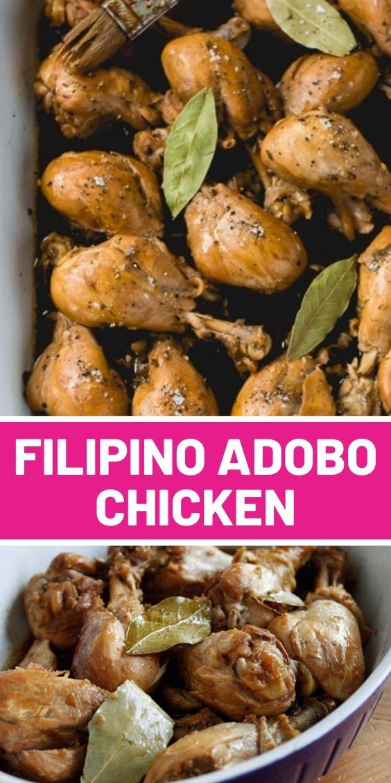 Filipino Adobo Chicken