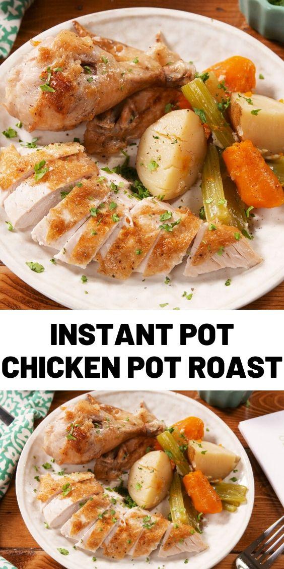 Instant Pot Chicken Pot Roast
