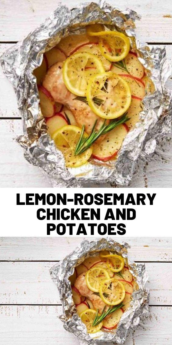 Lemon-Rosemary Chicken and Potatoes