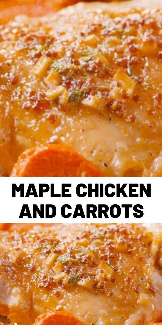 Maple Chicken & Carrots
