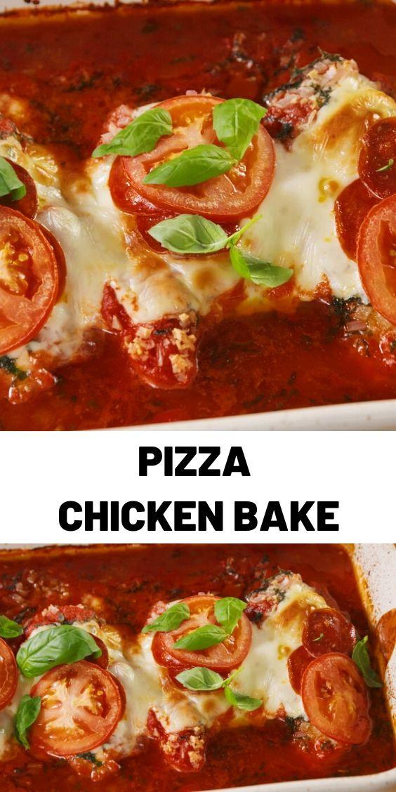 Pizza Chicken Bake