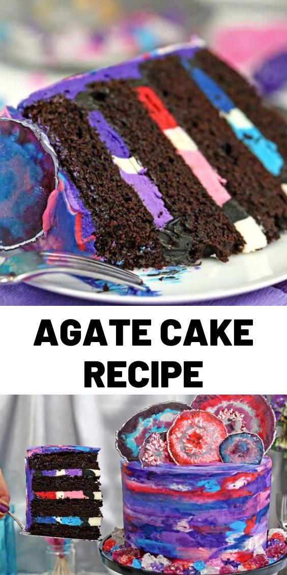 Agate Cake Recipe