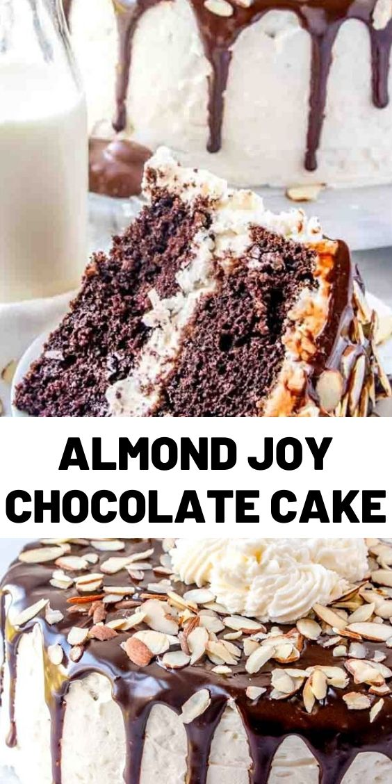 Almond Joy Chocolate Cake