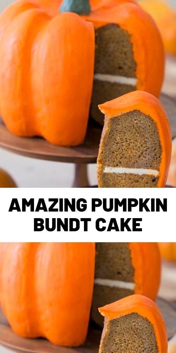 Amazing Pumpkin Bundt Cake