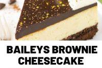 Baileys Brownie Cheesecake
