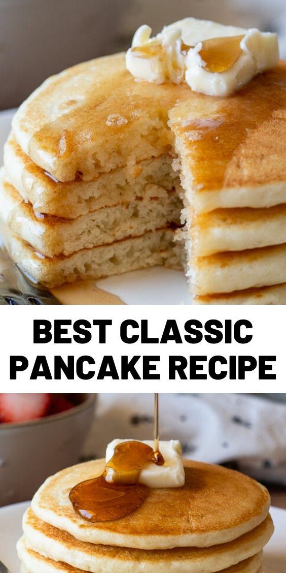 Best Classic Pancake Recipe