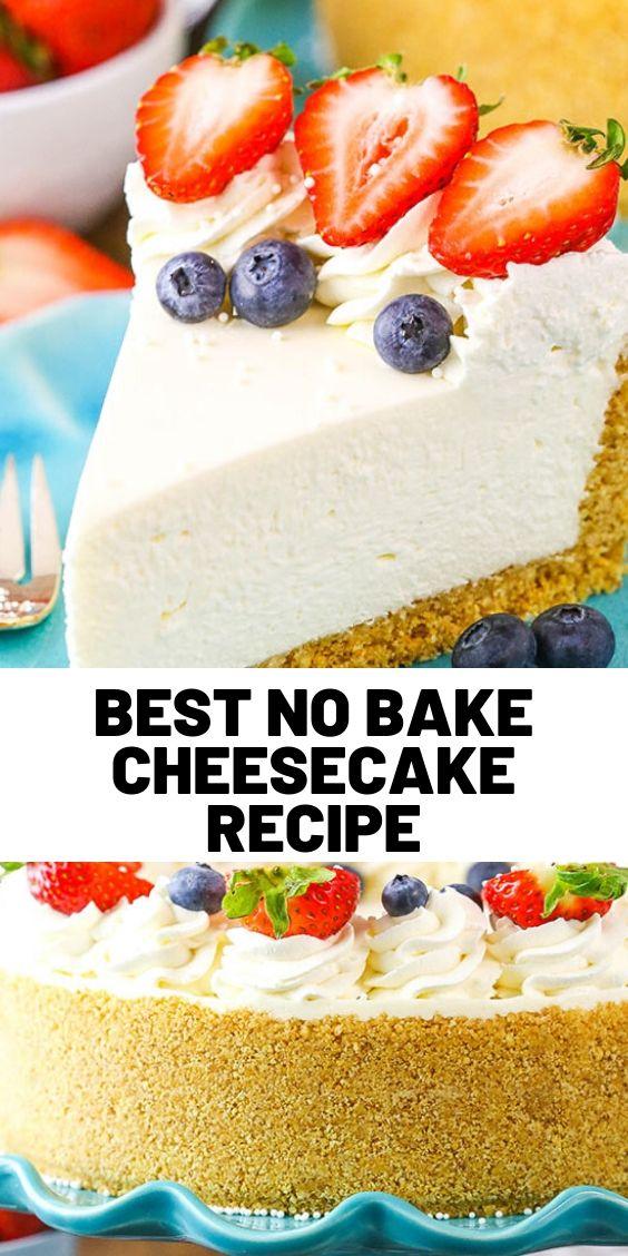 Best No Bake Cheesecake Recipe