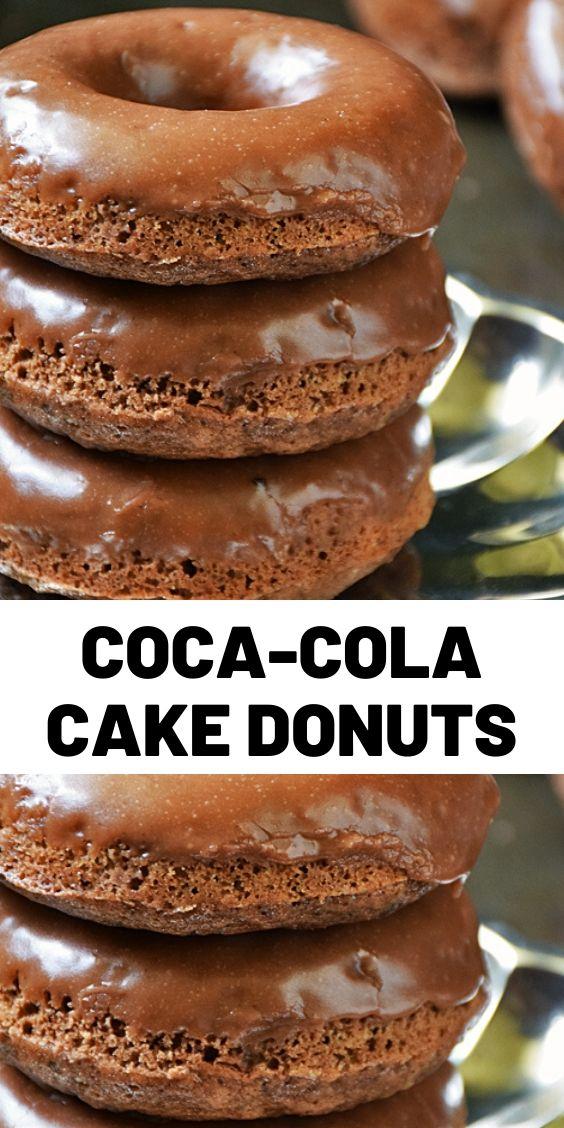 Coca-Cola Cake Donuts