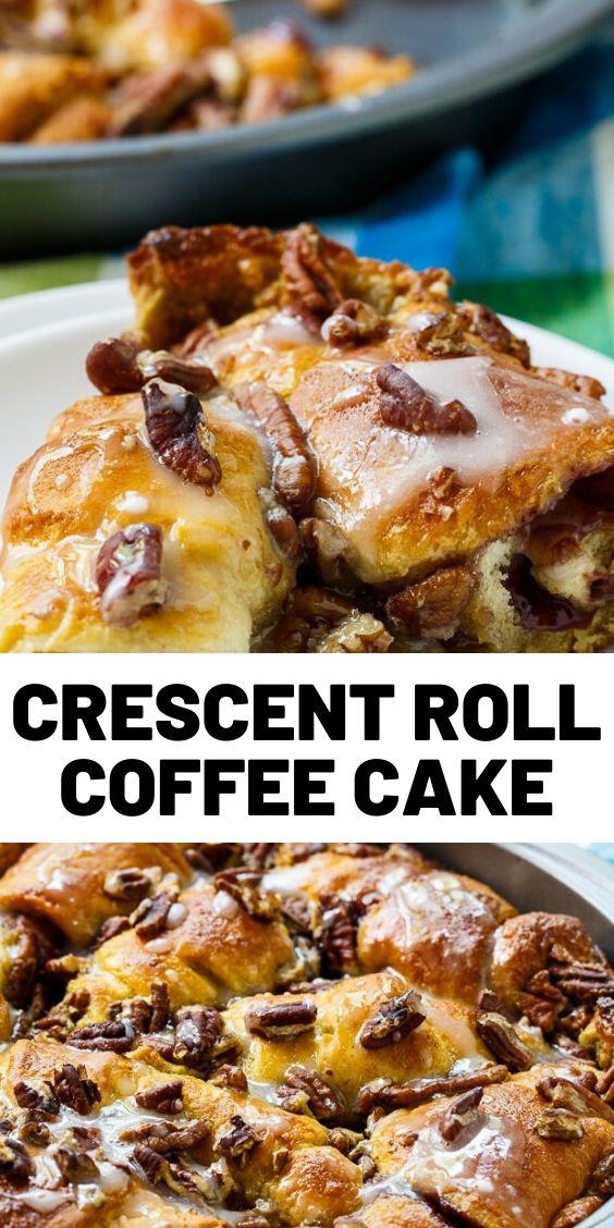 Crescent Roll Coffee Cake