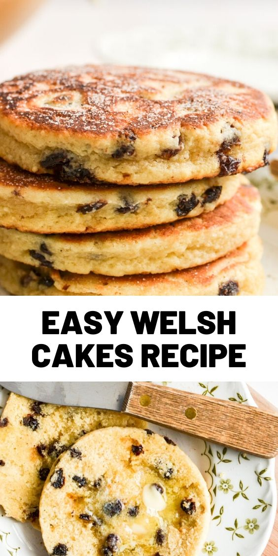 EASY WELSH CAKES RECIPE