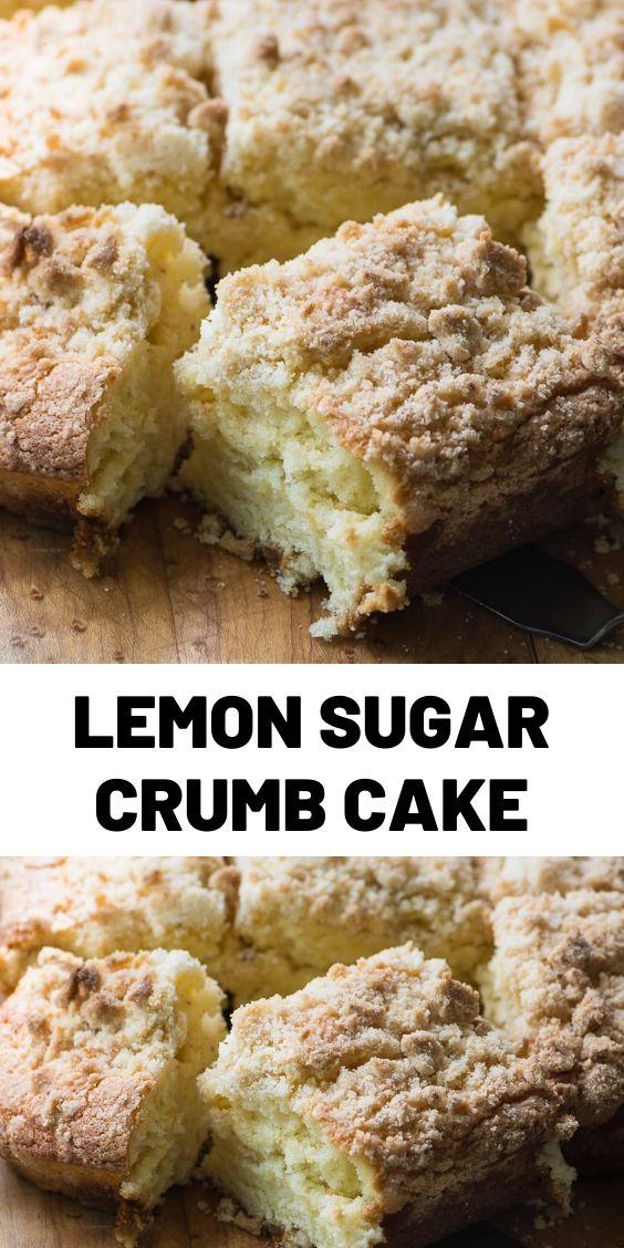 Lemon Sugar Crumb Cake