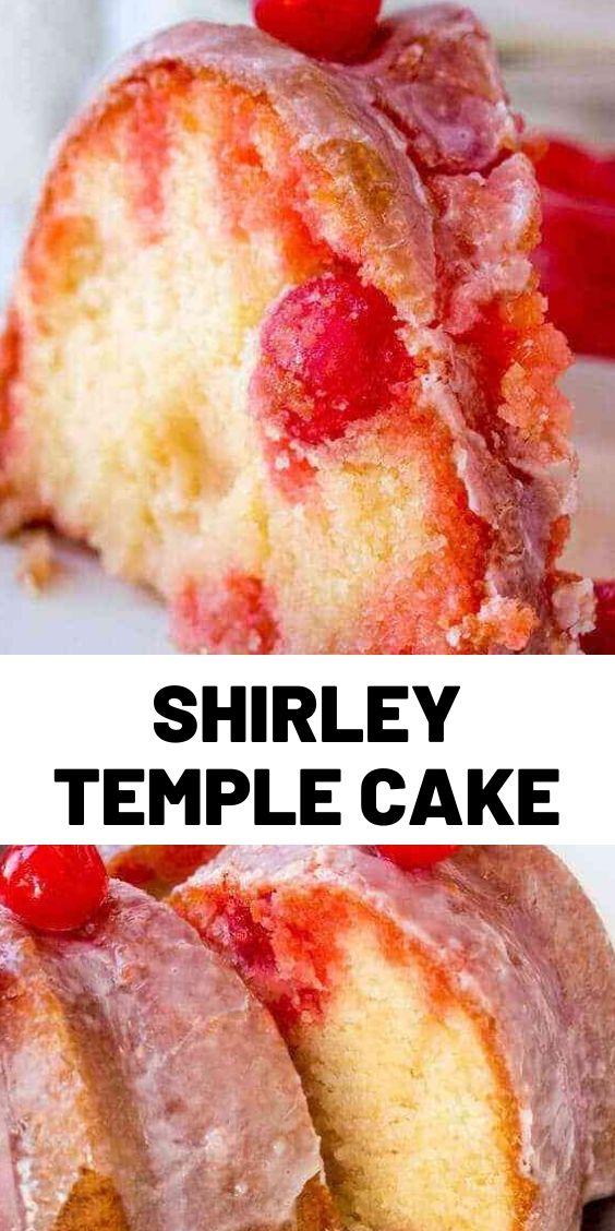 Shirley Temple Cake