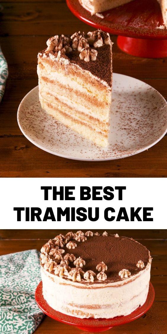The Best Tiramisu Cake