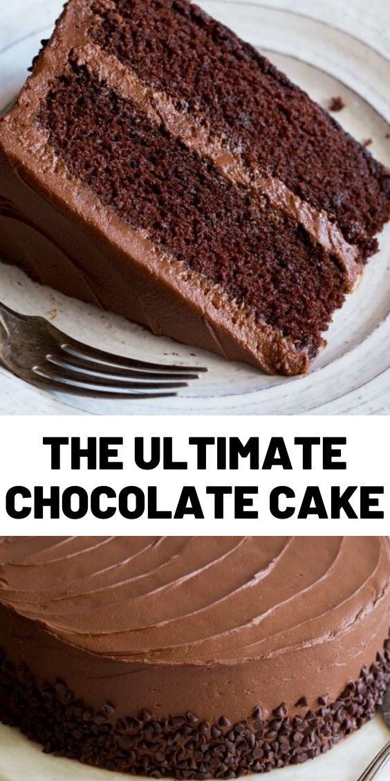 The Ultimate Chocolate Cake
