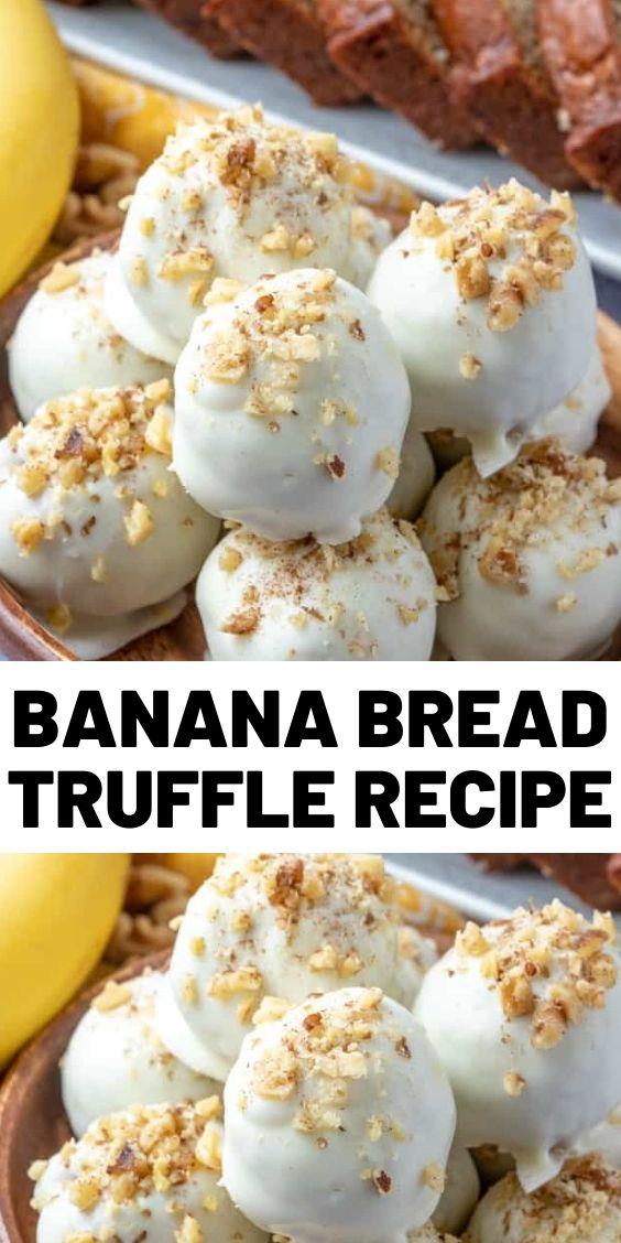 Banana Bread Truffle Recipe