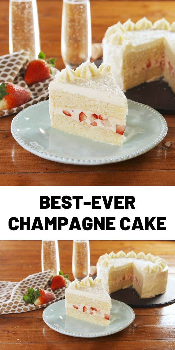 Best-Ever Champagne Cake