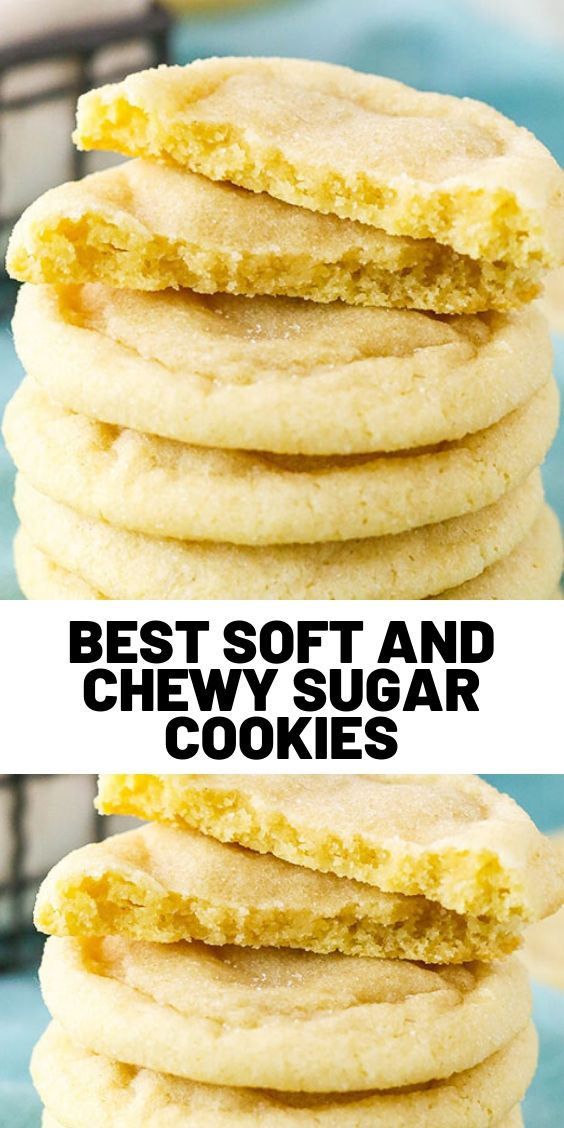 Best Soft And Chewy Sugar Cookies