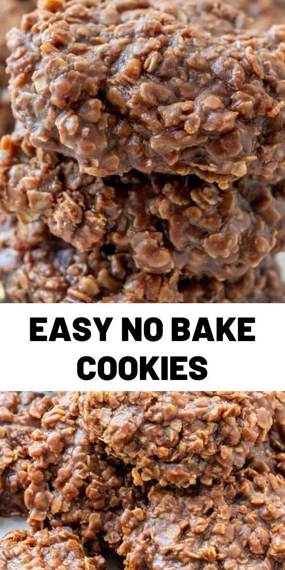 Easy No Bake Cookies