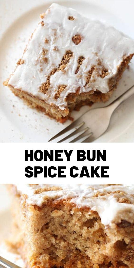 Honey Bun Spice Cake