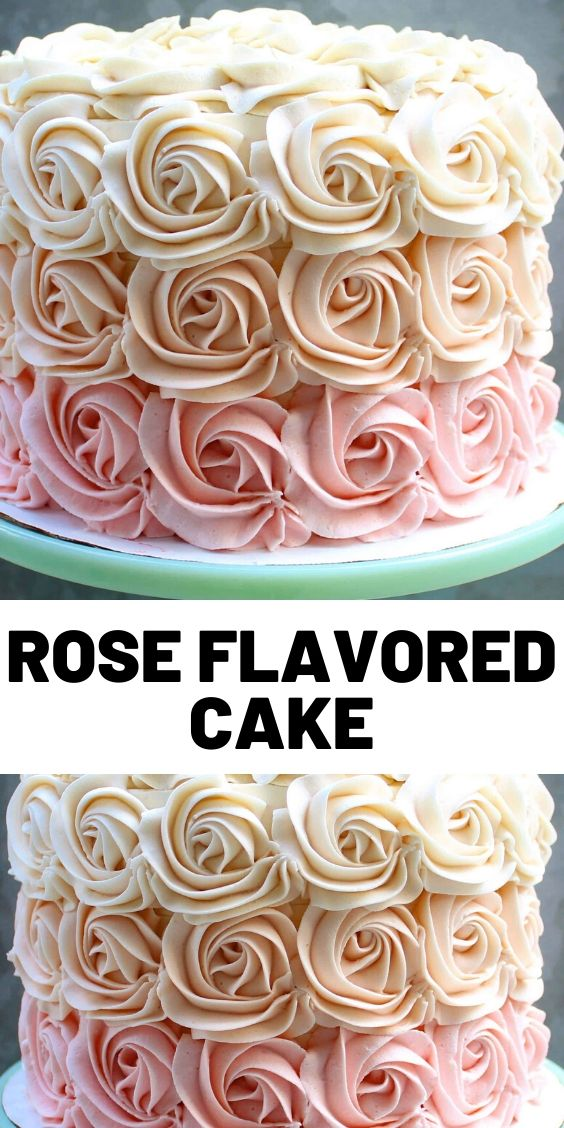 Rose Flavored Cake