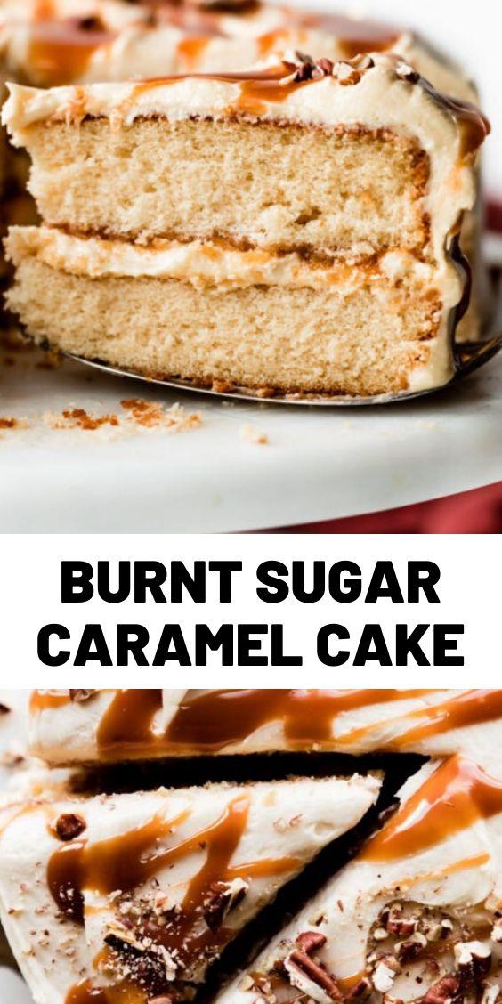 Burnt Sugar Caramel Cake
