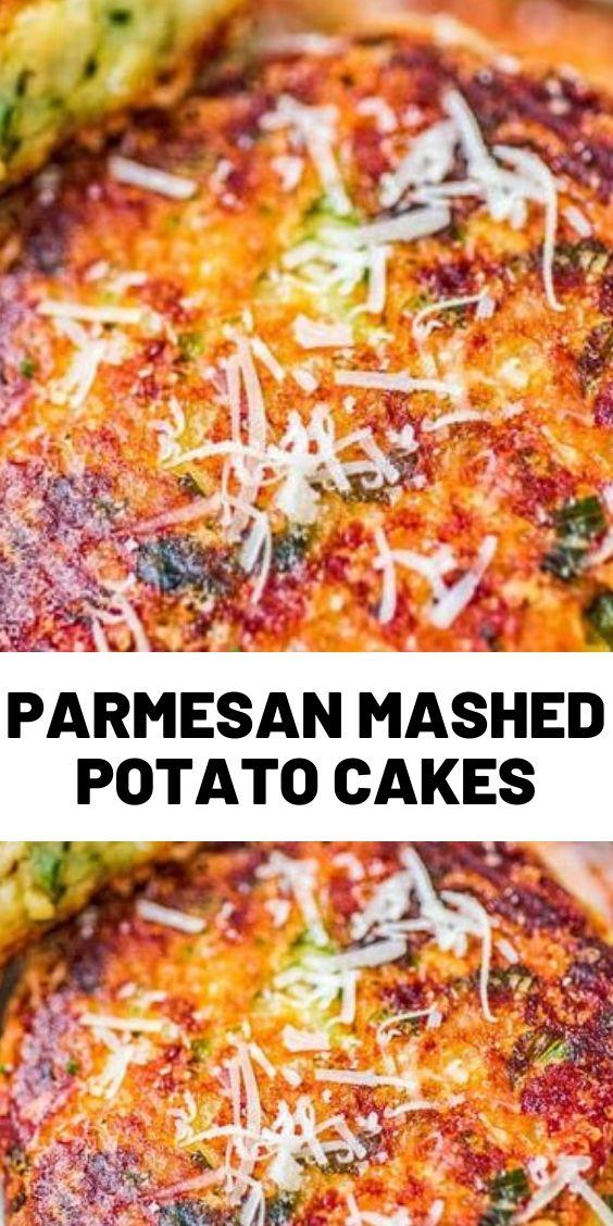 Parmesan Mashed Potato Cakes