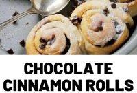 Chocolate Cinnamon Rolls